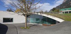kindergarten ebenholz - green landscaped roof