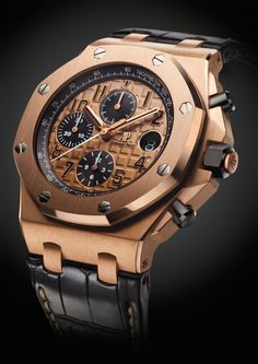 #BlackandGold Audemars Piguet @PharaohsLegacy Royal Oak Offshore Chronograph 42mm for 2014