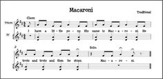 Make Music Rock!: Macaroni - Steady beat and singing voice assessment