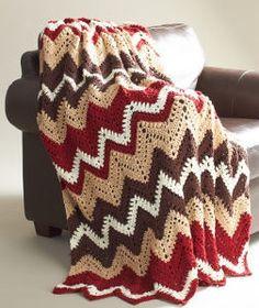 Cabin in the Woods Crochet Afghan