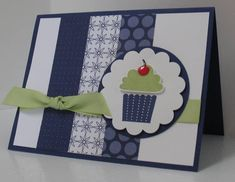 Club Make and Take Cupcake by blindstamper - Cards and Paper Crafts at Splitcoaststampers