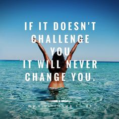 #ChallengeYourselfToChangeYourself This quote is used in fitness all the time We need to challenge the muscle for any changes to occur. But what about the mind?   Every day we face obstacles it could be the struggle to motivate yourself to get that work done or someone close to you has betrayed you or maybe you just feel like life is going no where?  Sitting on the sofa eating chips feeling sorry for yourself will not help you achieve anything!  Get off your backside  Attack this obstacle…