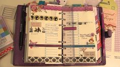 Decorating my Filofax - Week #17