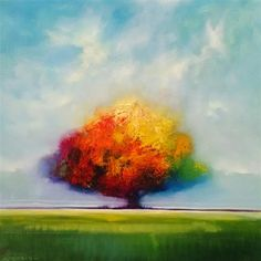 Love this oil painting from UGallery. Tree by George Peebles