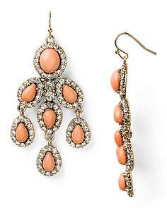 Aqua Chandelier Earrings | Bloomingdale's