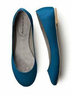 Amazon.com: Simple Satin Ballet Flat: Shoes