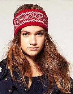 ASOS Wool Fairisle Headband