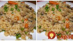 Výborné a lacné rizoto z rúry – lepšie som nejedla: Kto raz skúsi tento nápad, ryžu už inak robiť nebude!