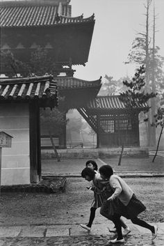 Henri Cartier-Bresson, Kyoto, Japan, 1965
