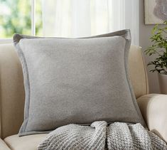 Sweatshirt Pillow Cover | Pottery Barn - 24: $35