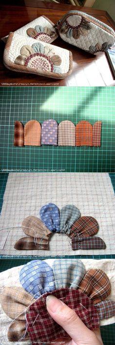 New patchwork necessaire tutorials 37 Ideas Patchwork Fabric, Patchwork Bags, Quilted Bag, Fabric Crafts, Sewing Crafts, Sewing Projects, Sewing Tutorials, Sewing Patterns, Bag Tutorials