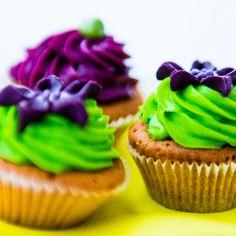 Lila green Cupkcakes