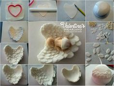 Baby in Angle Wings | Cake Topper