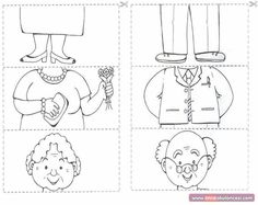 Crafts,Actvities and Worksheets for Preschool,Toddler and Kindergarten.Free printables and activity pages for free.Lots of worksheets and coloring pages. Drawing For Kids, Art For Kids, Crafts For Kids, Preschool Worksheets, Preschool Activities, Preschool Family, Grandparents Day Crafts, Puzzle Crafts, Family Theme