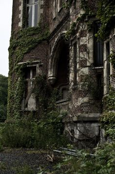 Abandoned Castles, Abandoned Mansions, Abandoned Places, Old Buildings, Abandoned Buildings, Parcs, Haunted Places, Architecture, Old Houses