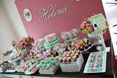 decoração de Festas Infantis personalizadas | Chá da Helena