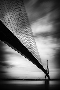 Le Pont de Normandie - France...  http://500px.com/photo/14382805