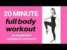 FULL BODY HOME WORKOUT FOR WEIGHT LOSS - CARDIO WORKOUT SUITABLE FOR BEGINNERS TO INTERMEDIATE - YouTube