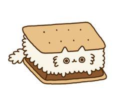 Cute Cartoon Food with Faces | cute, transparent, cat, aww