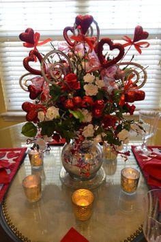 Valentine's Day Centerpiece ~ Kristen's Creations