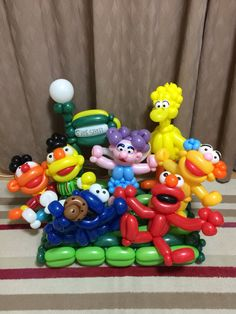 Twist Balloon  SESAME STREET  @gussy00balloon