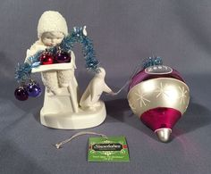 Snow Babies Figure And Ornament DON'T OPEN TILL CHRISTMAS 2007 Dept 56 #Department56