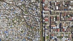 Cape Town-based photographer Johnny Miller shows the gap between the rich and the poor quite literally with his photo series Unequal Scenes. Captured using an Inspire 1 drone, Miller's images highlight the physical differences between the living situation of South African residents, where the picturesque homes and the tin shacks are separated by nothing more than a line down the middle. Although specific details are obscured from the aerial perspective he offers, the line of segregation and…