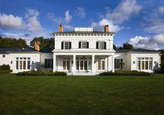 Palladian villa, Hudson Valley, NY