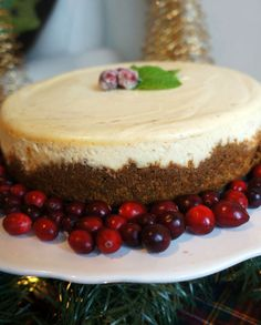 Chai-Spiced Cheesecake With Ginger Crust Recipes — Dishmaps