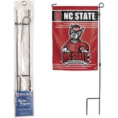 WinCraft Garden Flag Pole (Multi, Size ) - Pro Licensed Product, Pro Licensed Novelty at Academy Sports