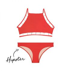 - Those with narrow shoulders and a wide waist should opt for the classic hipster bottom in a solid color. Pair it with an embellished top to draw attention to the upper body.