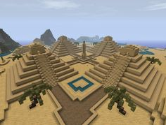 minecraft ancient pyramids