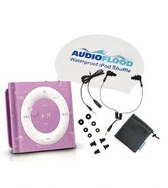 AudioFlood 2GB Waterproof iPod Shuffle Bundle (4th Gen) at SwimOutlet.com - The Web's most popular swim shop