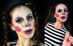 Muñeca Makeup Halloween  Artista: Marcela Leal Reserva tu cita en www.eltallerdelpelo.com Carnival, Halloween Face Makeup, Artistic Make Up, Artists, Atelier, Hair, Carnavals