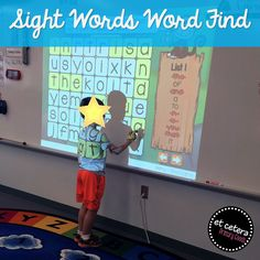 What a fun way to practice sight words! This interactive PowerPoint is a perfect addition to your shared reading block.