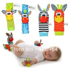 New arrival baby rattle baby toys  Wrist Rattle+Foot Socks 20pcs /lot-in Stuffed & Plush Animals from Toys & Hobbies on Aliexpress.com | Alibaba Group