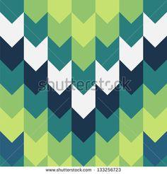 Geometric background. Vertical seamless - stock vector
