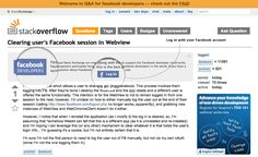 Stack Overflow: Facebook Approached Us About Partnership in Late ...
