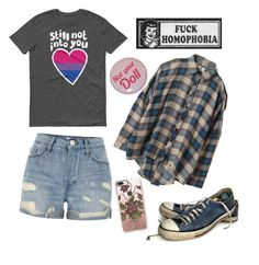 """""""I'm slouchy, queer, and tired"""" by sofiapetronella on Polyvore featuring UNIF, River Island, Casetify and Converse"""