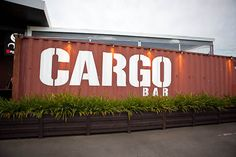 This Pop Up Bar is Made Using Discarded Cargo Carriers #design trendhunter.com