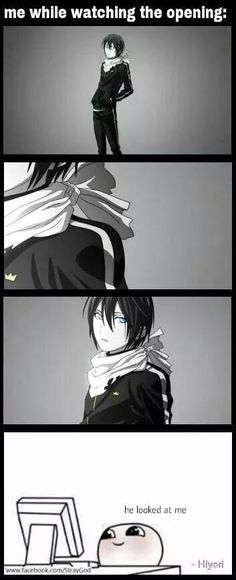 Yato... oh my god, his eyes are so beautiful....