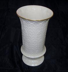 Vintage Lenox Vase  Autumn Leaf  Pattern Tall by EclecticVintager, $50.00