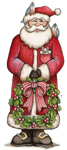 Laurie Furnell - Santa, pets and gifts Christmas Graphics, Christmas Clipart, Christmas Printables, Christmas Pictures, Christmas Rock, Father Christmas, Winter Christmas, Vintage Christmas, Santa Claus Clipart
