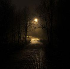 Road in Night by Aliaksandr Kavaleuski on 500px
