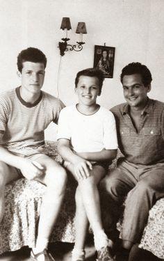 A 16 éves Bujtor István, a 12 éves Frenreisz Károly és a 27 éves Latinovits Zoltán