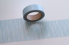 Tape SCHRÄGE STRICHE in mint hellblau  von washitapes auf DaWanda.com