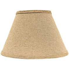 Neutral Heavy Basket Empire Lamp Shade 6x12x8 (Spider) - $60.00