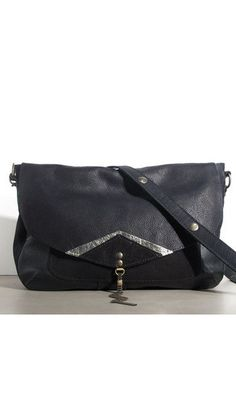 Sac Anna Origami cuir noir #bag #blackbag #sac #sacamain #noir #leather #leatherbag #anna #origami #fashion #madeinfrance #matieresarefexion #bags #cuir #leather