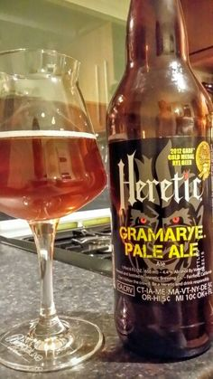 Heretic Brewing Company Gramarye Pale Ale. Watch the video beer review here…