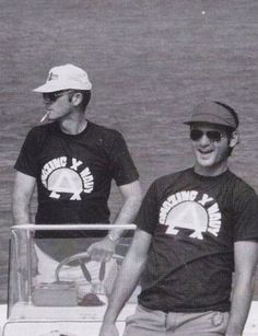 Hunter S. Thompson and Bill Murray. Way too much cool for one picture